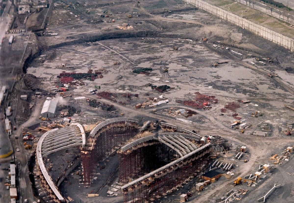 Stade olympique montr al au secours les ing nieurs for Sondage terrain avant construction