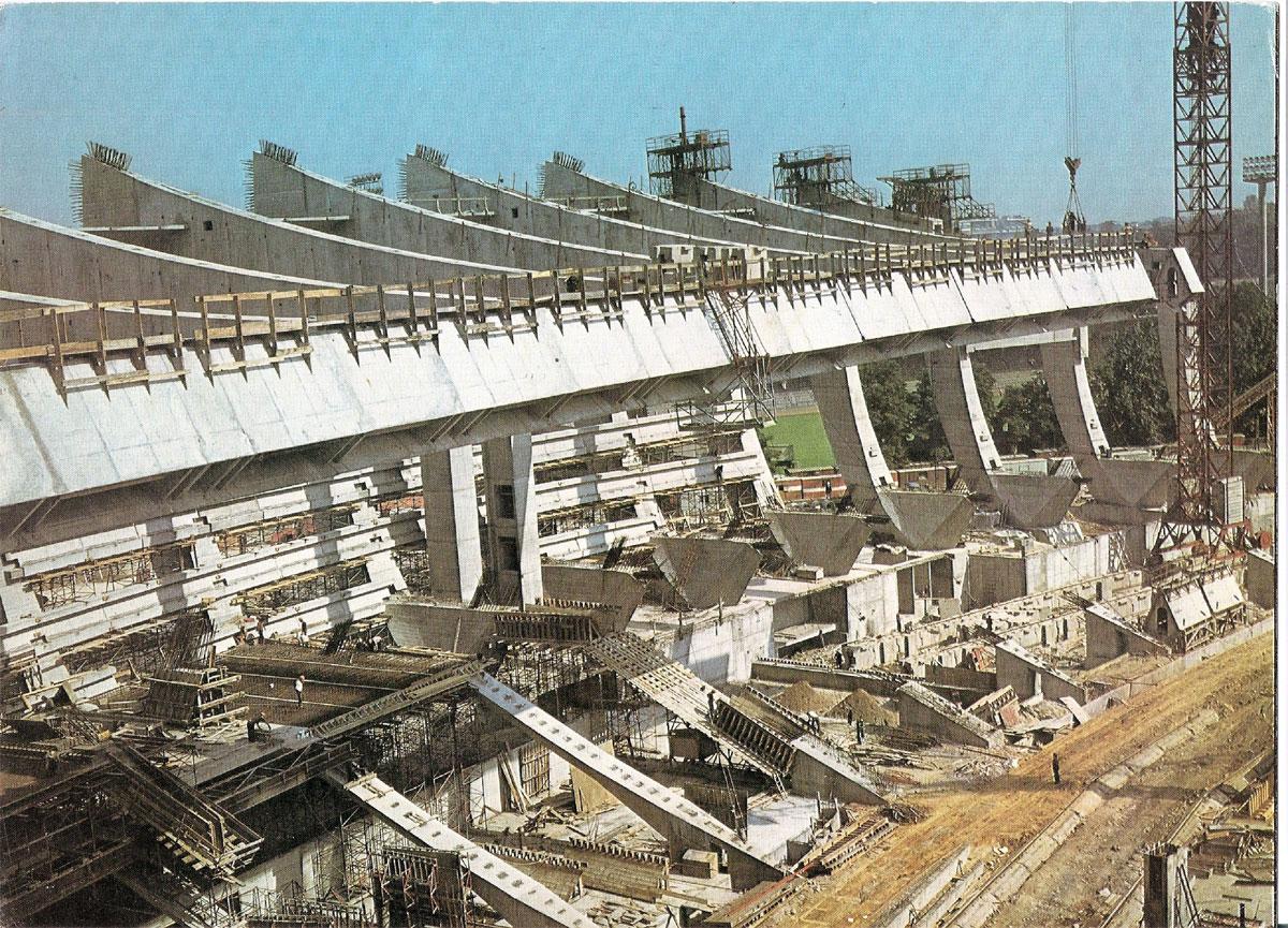 Stade olympique montr al l engagement de m taillibert m for Agrandir construction