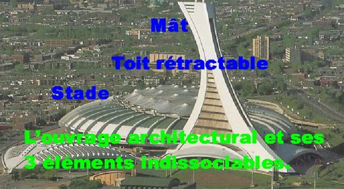 La vraie v rit sur le stade olympique de montr al for Ouvrage architectural