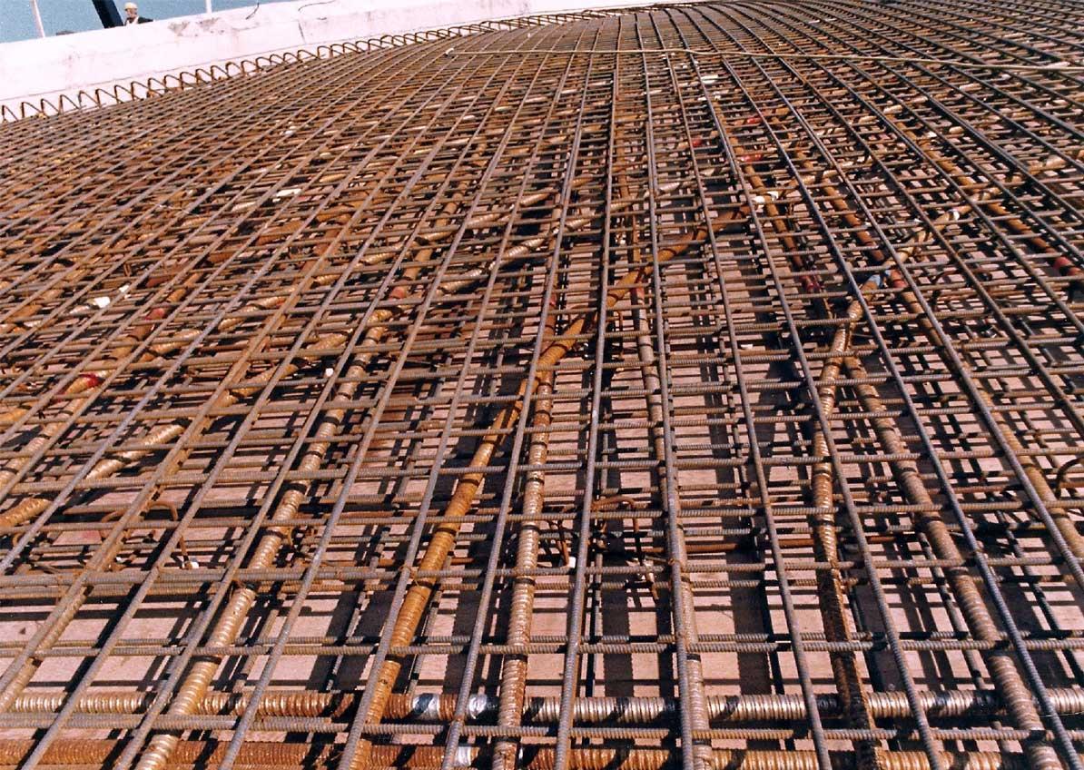 Armature beton - Panneau treillis soude pour dalle de beton ...