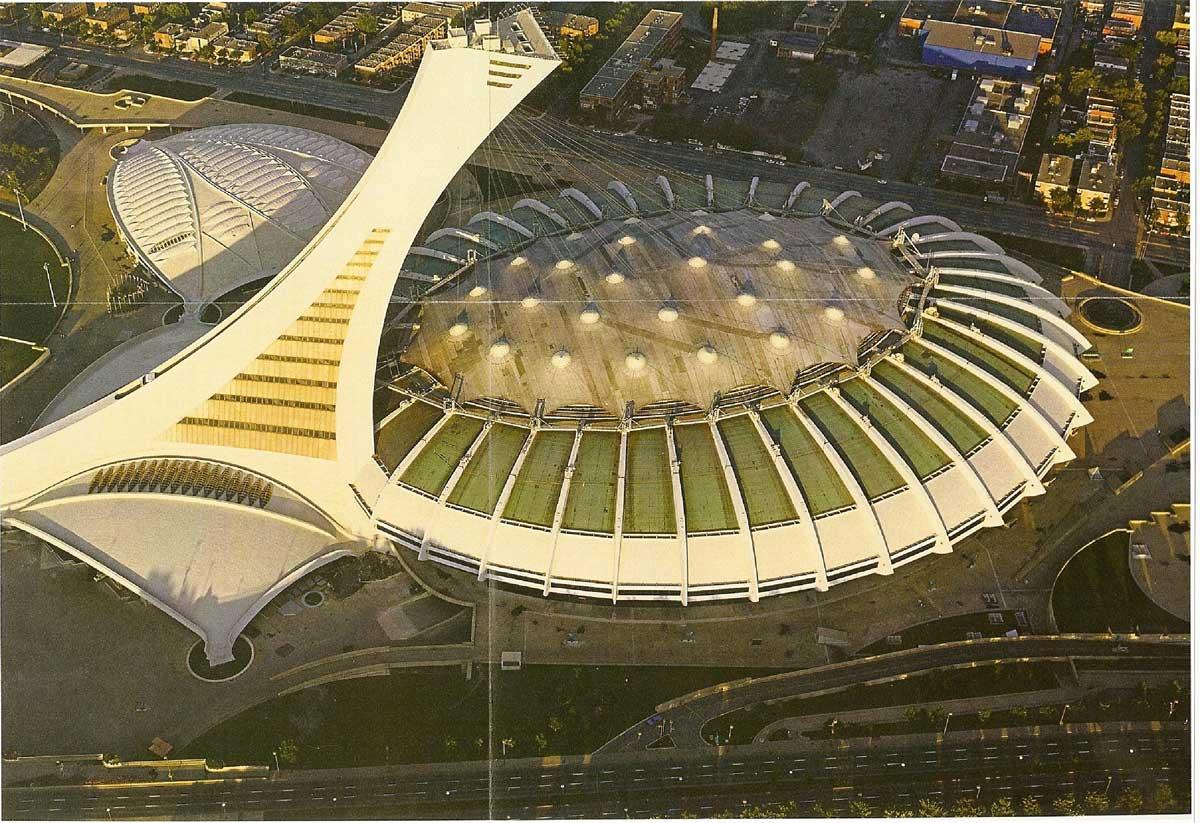 La vraie v rit sur le stade olympique de montreal - Piscine du stade olympique ...